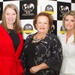 Birgit Marsili, Iara Miotti, coordenadora da BPW Região Sul, e Lucyanna Lima, presidente BPW Curitiba - Foto: Marianne Mousfi
