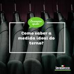 Como saber a medida ideal do terno?